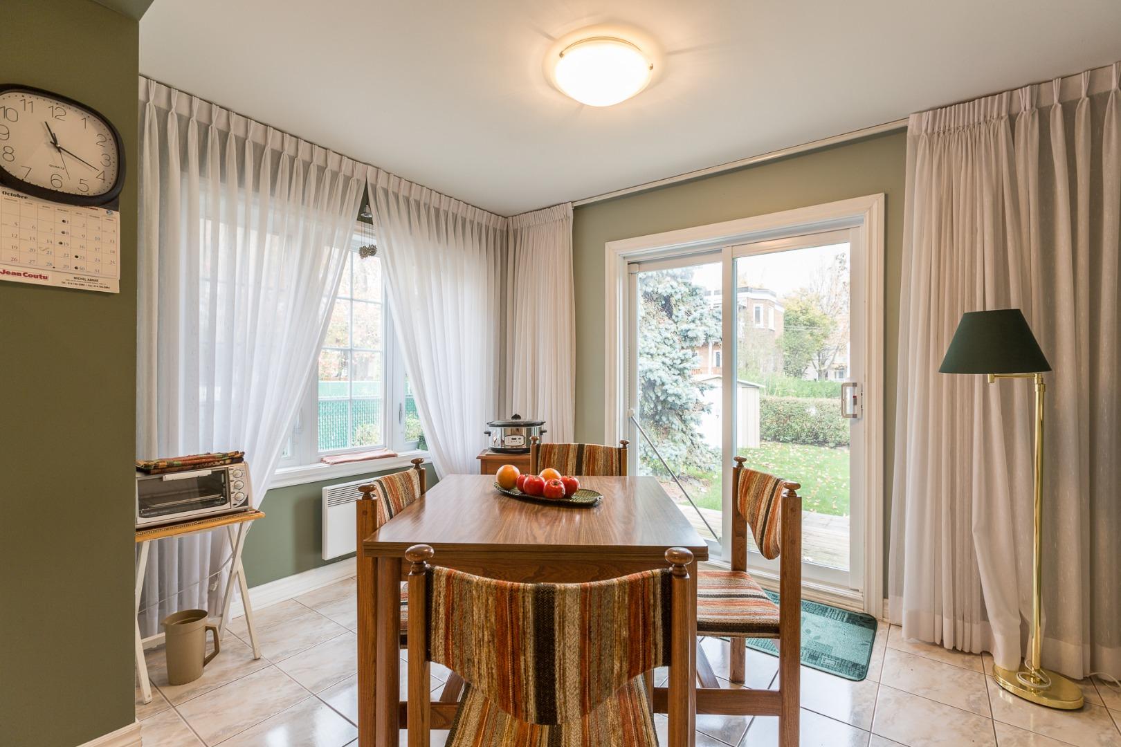 Duplex à vendre Montréal Ahuntsic-Cartierville-Nouveau Bordeaux - Salle à manger