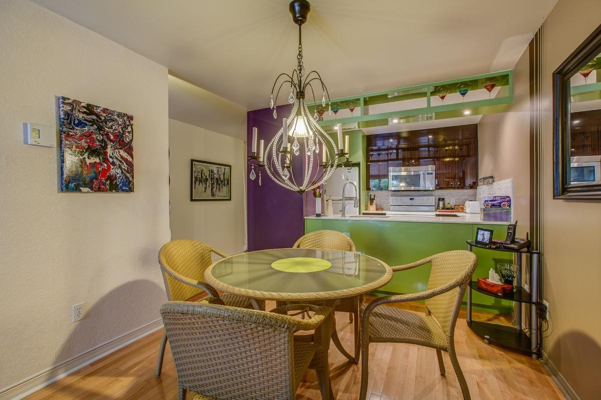 Salle à manger - Condo à vendre Montréal Le Plateau Mont-Royal / Mile-end